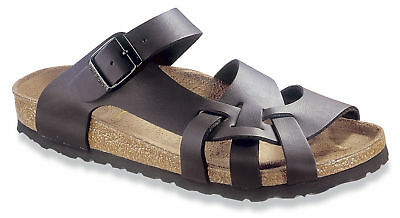 ebd9cffc3c03 BETULA BY BIRKENSTOCK Borneo womens Thongs Slides Sandals Patent ...