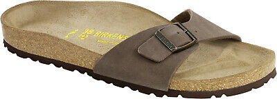 Birkenstock Madrid Birko-Flor Nubuck Womens Shoes Slides Sandals Clogs 64005196721