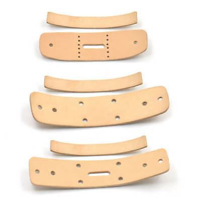 """38mm 1.5"""" Vegetable Tanned Leather Natural Belt Connection Buckles Blank DIY"""