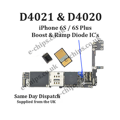 1x Backlight U4020 IC Coil L4020 Diode D4020 Diode D4201 iPhone6s//SE