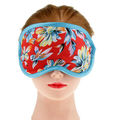 Soft Travel Sleep Eye Mask/ Cover/ Sleeping Blindfold With Beautiful Pattern
