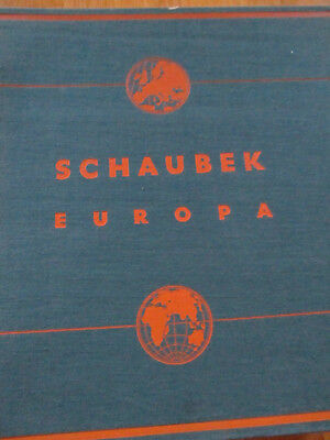 Schaubek album Europe Medium Edition 1941 like new without Postage Stamps