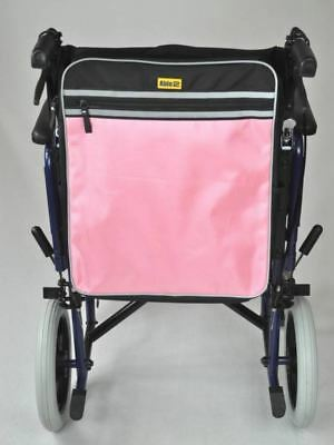 Pink Standard Universal Mobility Scooter Backrest Bag Sack Disability Aid
