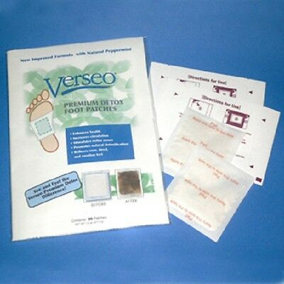 New Verseo Detox Foot Natural Cleansing Premium Patches
