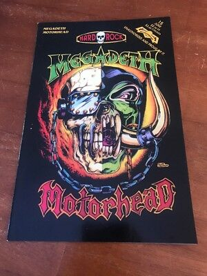 Megadeth Motorhead Issue 15 (Hard Rock)