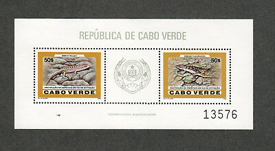 Cape Verde Sc#495 M/NH/VF, WWF Sheet, Cv. $30