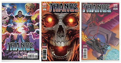 THANOS #14 15 16 SET 1st APPEARANCE COSMIC GHOST RIDER (2nd PRINT) 2017 NM- NM