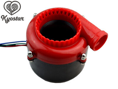 Racing RED Electric Dump Fake Turbo Sound Simulator + Switch Blow Off Valve BOV