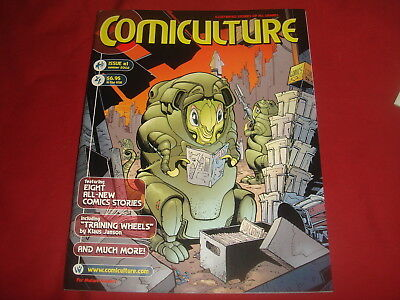 COMICULTURE #1  Art Magazine  Klaus Janson and others  2002  NM