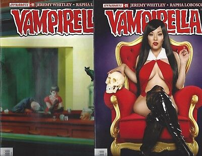Vampirella #11 Covers C & D Cosplay And Subscription Cover Dynamite!