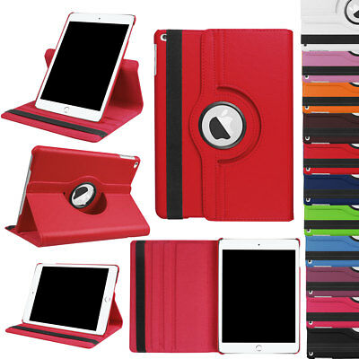 PU Leather 360 Rotating Smart Stand Case Cover for Apple iPad 9.7 2018 6th Gen