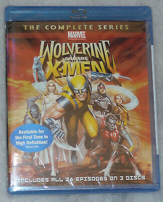 Wolverine and the X-Men: La COMPLETA Series - BLU-RAY - Nuevo Precintado