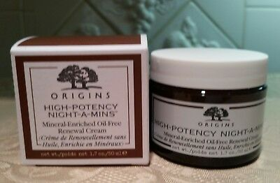 ORIGINS HIGH-POTENCY Night-A-Mins Mineral-Enriched OIL FREE 1.7 oz/50ml NewInBox