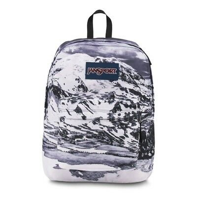 NEW BACKPACK JANSPORT High Stakes Satin Summer Purple Grey