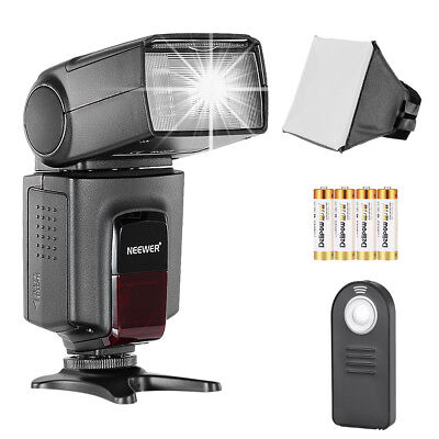 Neewer TT560 Speedlite Flash Kit with Flash Diffuser for Canon Nikon Olympus