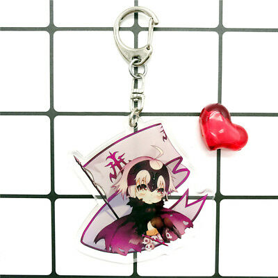 Neu Anime Fate Grand Order Lancer Scathach Acrylic Pendant Schlüsselbund 1Pc