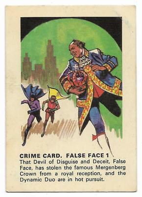 1966 Batman Weeties & Rice Krinkles False Face 1