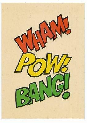 1966 Batman Weeties & Rice Krinkles Wham Pow Bang