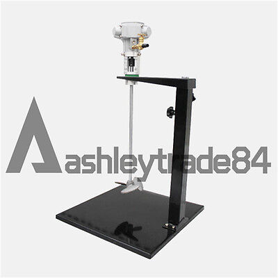 Pneumatic Mixer with Stand 5 Gallon Tank Barrel Paint Stainless Steel Mix Tool