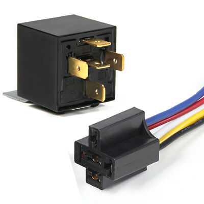 12V 40A 5-Pin Automotive Changeover Relay SPDT Swithcing Relays for Car Bike Van
