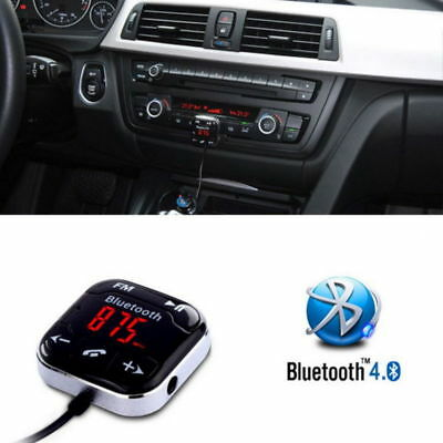 FM Transmitter Magnet Car Kit SD USB LCD AUX MP3 Wireless Bluetooth Handsfree