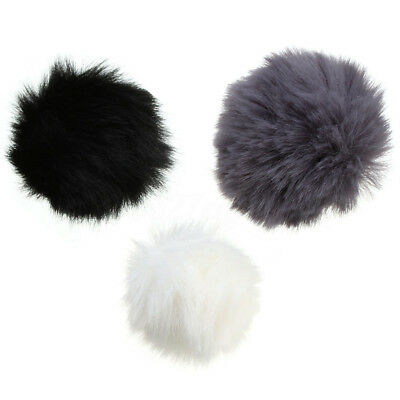 Random 1pc Fur Windscreen Windshield Wind Muff for Lapel Lavalier Microphone Mic