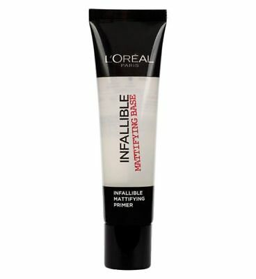 L'Oreal Infallible Mattifying Base Primer 35ml Sealed - UK Seller