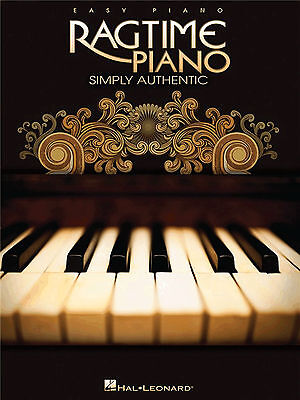 RAGTIME FOR EASY PIANO Sheet Music Book Songbook Scott Joplin Tunes Songs