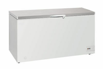 Chillmatic Commercial Chest Freezer Deep Freeze Stainless Top in Various Sizes