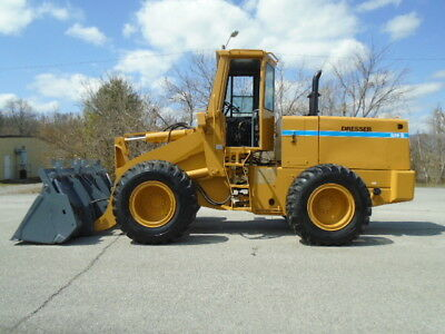 1985 Dresser 520B Articulating Wheel Loader