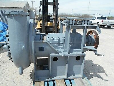 8x10 Metso/Thomas Slurry Pump and Goodyear PD Drive