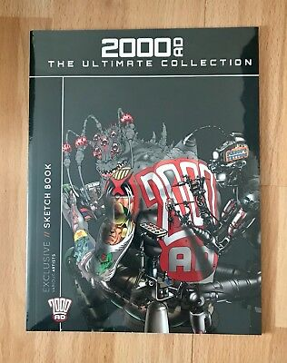 2000AD The Ultimate Collection EXCLUSIVE Sketch Book Subscribers Gift NEW SEALED