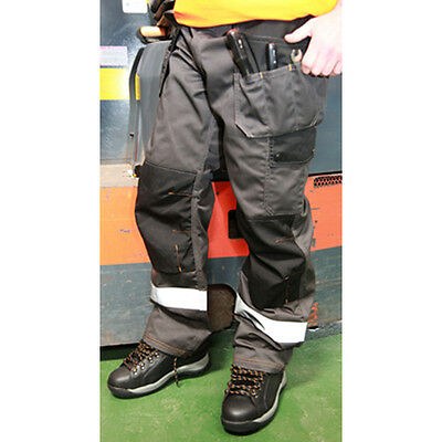 ***STOCK CLEARANCE*** Heavy Duty Safety Work Trousers, HYM727