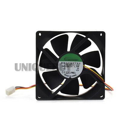 1pc for SUNON KD1209PTS2 92*92*25mm 12V 1.7W 2400RPM cooling fan