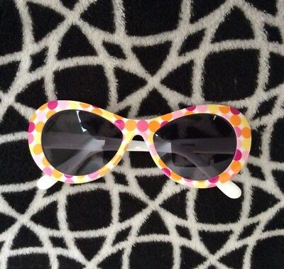 Gymboree SUNSHINE DAYDREAM Line White Spotted Sunglasses Vintage 2004 Age 4+ HTF
