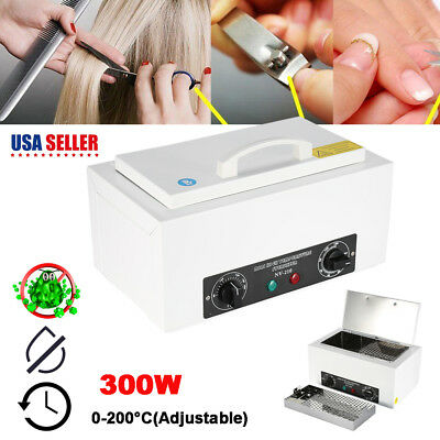 Nail Dental Dry Heat High Temperature Sterilizer Cabinet For Tattoo Medical Tool
