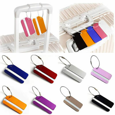 New Suitcase Name Address ID Bag Baggage Tag Travel Luggage Tags Accessories