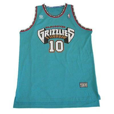 a92d0d9b9 NBA VANCOUVER GRIZZLIES Mike Bibby  10 Hardwood Classic Green Jersey ...