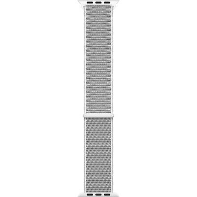 Genuine Apple Watch Sport Loop Band (38mm, Seashell) Hook-and-Loop Closure - VG