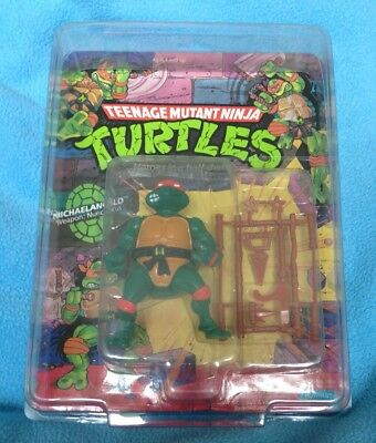 Two Toy Shield Protective Cases For Vintage Turtles TMNT Figures
