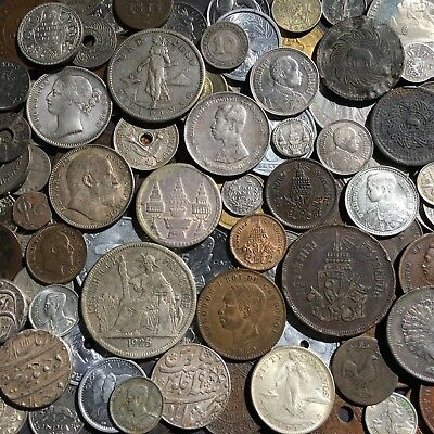 94 Mostly Higher End South East Asian And Western Pacific World Coin Lot