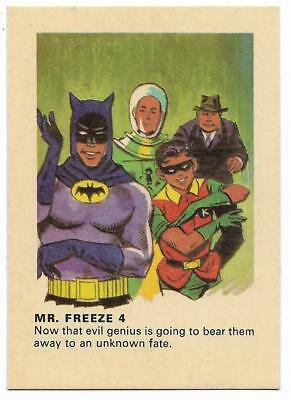 1966 Batman Weeties & Rice Krinkles Mr. Freeze 4