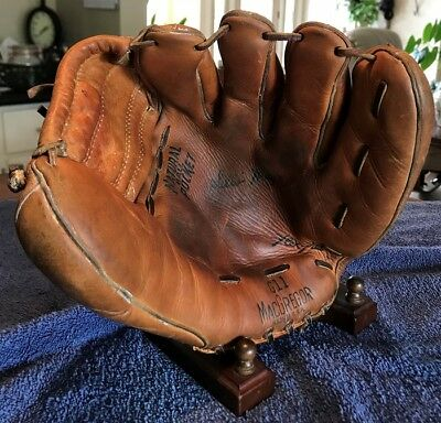 Willie Mays Usa Macgregor Vintage Baseball Glove