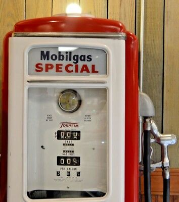 1938 Tokheim Model 39 Tall Gas Pump