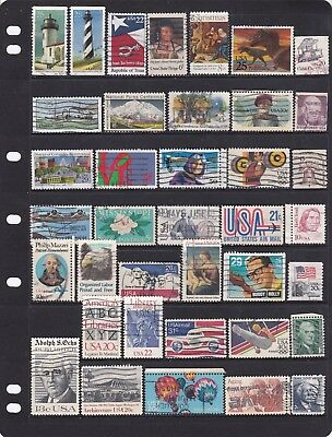 Lot of USA stamps used collection all different (1)