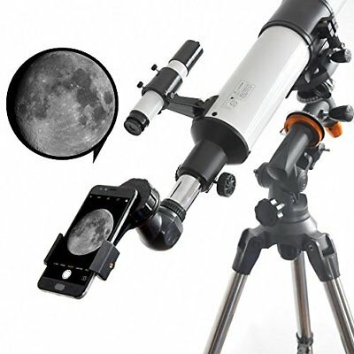 Telescope Spotting Scope Binocular Universal Cell Phone Camera Adapter Mount For