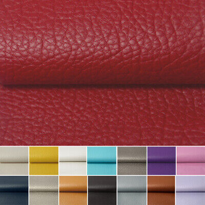 New Heavy Synthetic Leatherette Faux PU Leather Upholstery Fabric Material