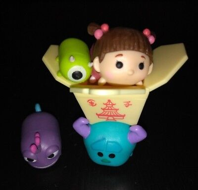 Disney Tsum Tsum Vinyl Figures Stack Boo Randall Mike & Large Sulley!