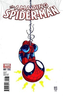 Amazing Spider-Man 1 Vol 3 Rare Skottie Young Baby Variant Cover Superior Nm