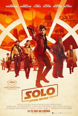 Solo: A Star Wars Story - Affiche cinéma 40X60 - 120x160 Movie Poster